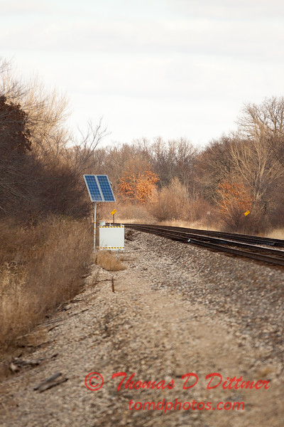 14 - 2013 BNSF Railroad near Reading Illinois
