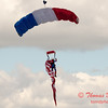 116 - Liberty Parachute Team member descends into Wings over Waukegan 2012