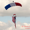 115 - Liberty Parachute Team member descends into Wings over Waukegan 2012