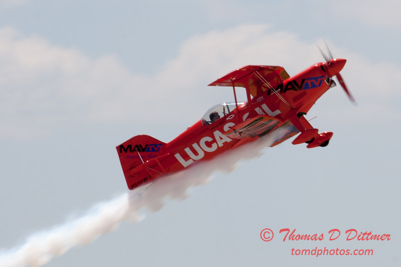 137 -  Mike Wiskus and the Lucas Oil Pitts perform at the 2012 Rockford Airfest - Chicago Rockford International Airport - Rockford Illinois - Sunday June 3rd 2012