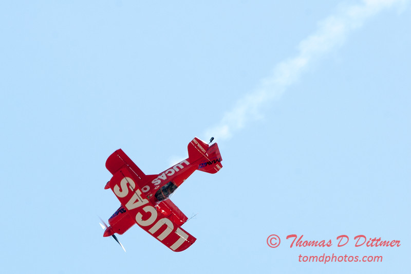 148 -  Mike Wiskus and the Lucas Oil Pitts perform at the 2012 Rockford Airfest - Chicago Rockford International Airport - Rockford Illinois - Sunday June 3rd 2012