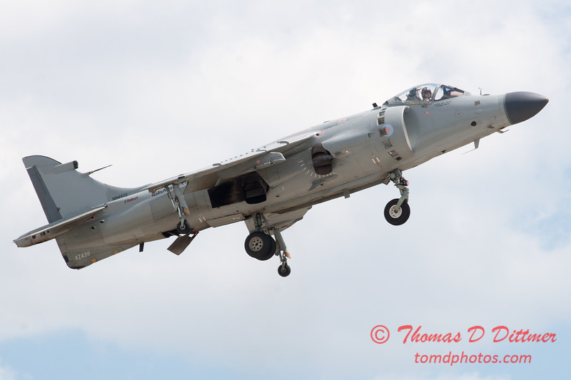 975 - Art Nalls F/A 2 Sea Harrier at the 2012 Rockford Airfest - Chicago Rockford International Airport - Rockford Illinois - Sunday June 3rd 2012