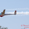 815 - Bob Carlton in his Jet powered Sailplane perform at the South East Iowa Air Show in Burlington Iowa