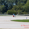 838 - Bob Carlton in his Jet powered Sailplane returns to the South East Iowa Air Show in Burlington Iowa