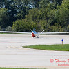 837 - Bob Carlton in his Jet powered Sailplane returns to the South East Iowa Air Show in Burlington Iowa