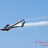 813 - Bob Carlton in his Jet powered Sailplane perform at the South East Iowa Air Show in Burlington Iowa
