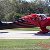 666 - Erik Edgren in his Taylorcraft returns and taxies to parking at the South East Iowa Air Show in Burlington Iowa