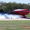 671 - Erik Edgren in his Taylorcraft returns and taxies to parking at the South East Iowa Air Show in Burlington Iowa