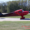 668 - Erik Edgren in his Taylorcraft returns and taxies to parking at the South East Iowa Air Show in Burlington Iowa