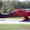 665 - Erik Edgren in his Taylorcraft returns and taxies to parking at the South East Iowa Air Show in Burlington Iowa