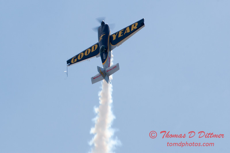 916 - Michael Goulian in the Extra 330SC at the 2012 Rockford Airfest - Chicago Rockford International Airport - Rockford Illinois - Sunday June 3rd 2012