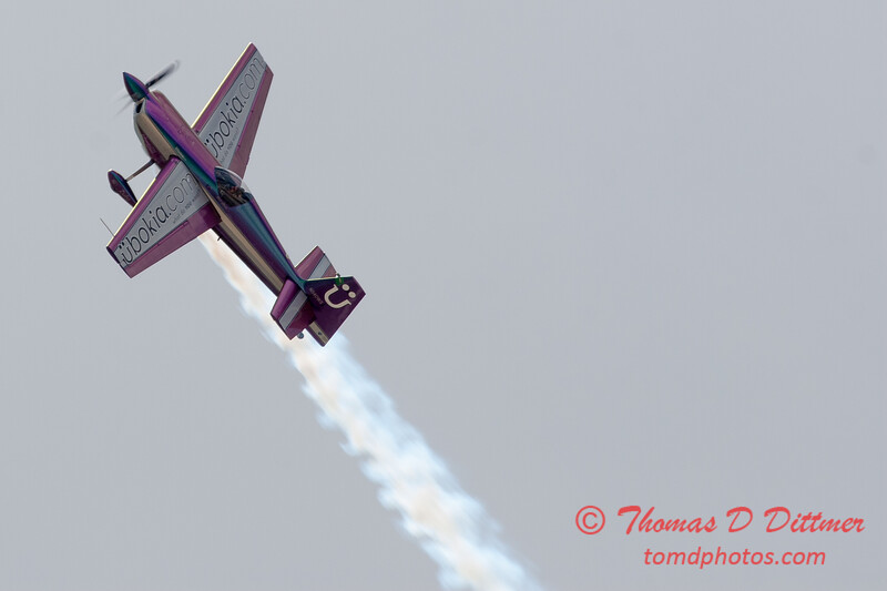570 - Bill Stein performs in an Edge 540 at the 2012 Rockford Airfest - Chicago Rockford International Airport - Rockford Illinois - Sunday June 3rd 2012