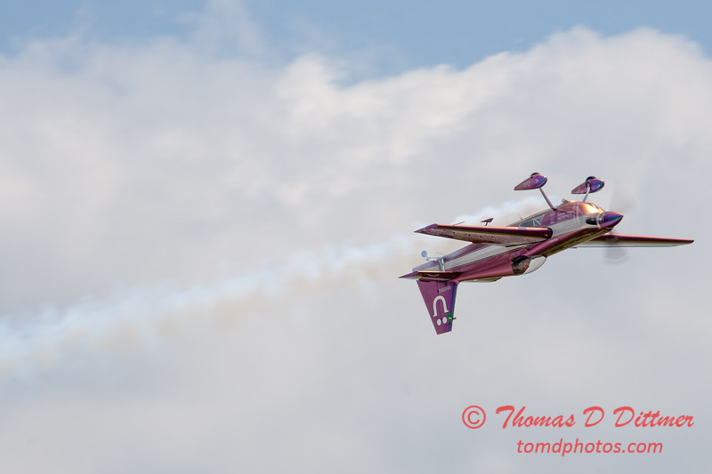 582 - Bill Stein performs in an Edge 540 at the 2012 Rockford Airfest - Chicago Rockford International Airport - Rockford Illinois - Sunday June 3rd 2012