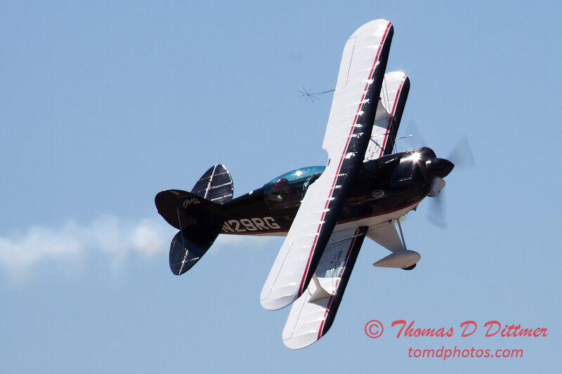 211 - Dick Schulz and the Raptor Pitts perform at the South East Iowa Air Show in Burlington Iowa