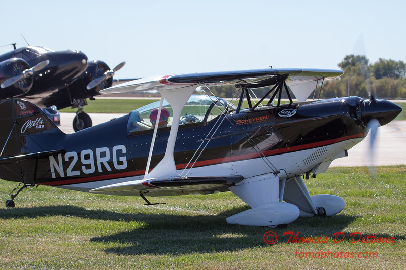 683 - Dick Schulz and the Raptor Pitts return to the South East Iowa Air Show in Burlington Iowa