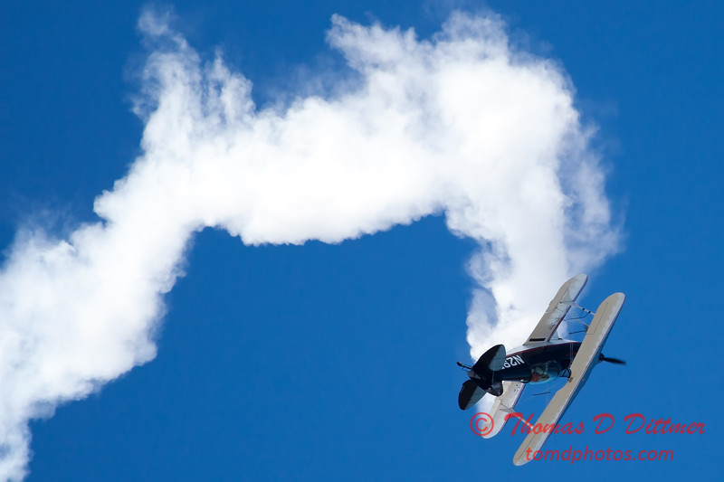 181 - Dick Schulz and the Raptor Pitts perform at the South East Iowa Air Show in Burlington Iowa