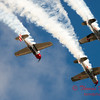 211 - Team Aerostar in Yakovlev Yak-52's perform at Wings over Waukegan 2012