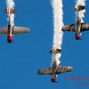 213 - Team Aerostar in Yakovlev Yak-52's perform at Wings over Waukegan 2012