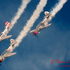 216 - Team Aerostar in Yakovlev Yak-52's perform at Wings over Waukegan 2012