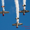 212 - Team Aerostar in Yakovlev Yak-52's perform at Wings over Waukegan 2012