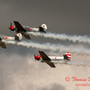221 - Team Aerostar in Yakovlev Yak-52's perform at Wings over Waukegan 2012