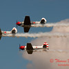 220 - Team Aerostar in Yakovlev Yak-52's perform at Wings over Waukegan 2012