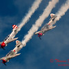 217 - Team Aerostar in Yakovlev Yak-52's perform at Wings over Waukegan 2012