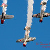 215 - Team Aerostar in Yakovlev Yak-52's perform at Wings over Waukegan 2012