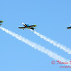 115 - The Vanguard Squadron performs in their ethanol powered RV3's at the South East Iowa Air Show in Burlington Iowa
