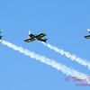 116 - The Vanguard Squadron performs in their ethanol powered RV3's at the South East Iowa Air Show in Burlington Iowa