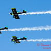 161 - The Vanguard Squadron perform in their ethanol powered RV3's at the South East Iowa Air Show in Burlington Iowa