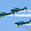 124 - The Vanguard Squadron perform in their ethanol powered RV3's at the South East Iowa Air Show in Burlington Iowa