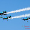 163 - The Vanguard Squadron perform in their ethanol powered RV3's at the South East Iowa Air Show in Burlington Iowa