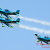 123 - The Vanguard Squadron perform in their ethanol powered RV3's at the South East Iowa Air Show in Burlington Iowa