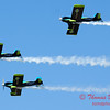 160 - The Vanguard Squadron perform in their ethanol powered RV3's at the South East Iowa Air Show in Burlington Iowa