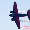 "893 - Matt Younkin performs for fans in his Beechcraft BE18 ""Twin Beech"" at the South East Iowa Air Show in Burlington Iowa"