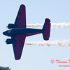 """899 - Matt Younkin performs for fans in his Beechcraft BE18 """"Twin Beech"""" at the South East Iowa Air Show in Burlington Iowa"""
