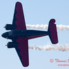 "896 - Matt Younkin performs for fans in his Beechcraft BE18 ""Twin Beech"" at the South East Iowa Air Show in Burlington Iowa"