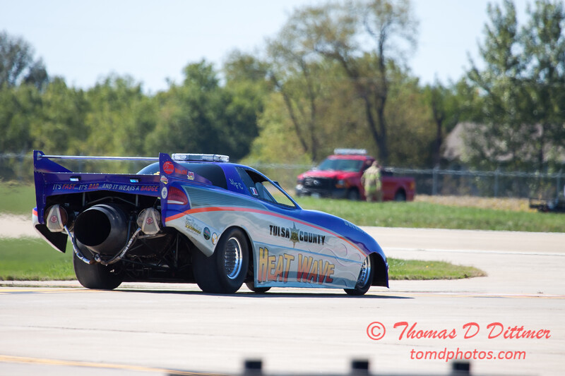369 - Tulsa County Heatwave Jet Car at the South East Iowa Air Show in Burlington Iowa