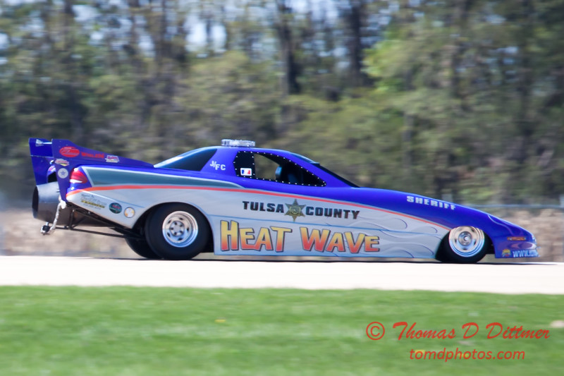 389 - Tulsa County Heatwave Jet Car at the South East Iowa Air Show in Burlington Iowa