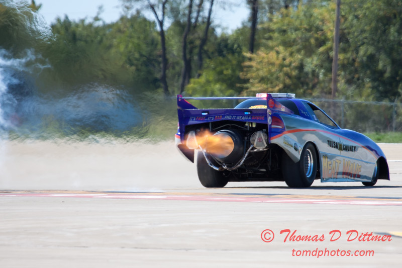 375 - Tulsa County Heatwave Jet Car at the South East Iowa Air Show in Burlington Iowa