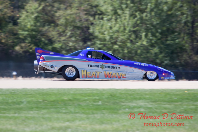 386 - Tulsa County Heatwave Jet Car at the South East Iowa Air Show in Burlington Iowa