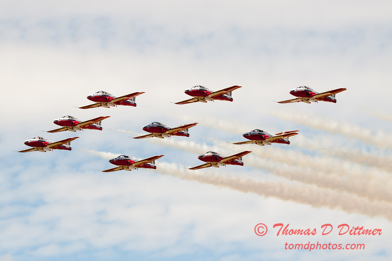 1783 - The RCAF Snowbirds performance at Wings over Waukegan 2012