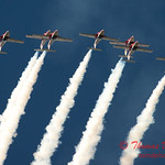 1600 - The RCAF Snowbirds performance at Wings over Waukegan 2012