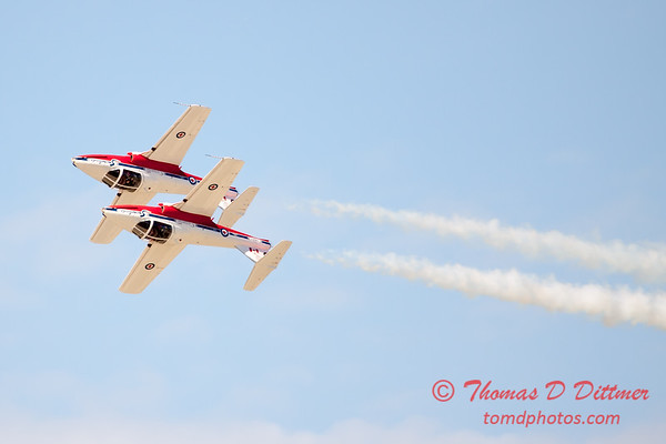 1565 - The RCAF Snowbirds performance at Wings over Waukegan 2012