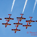 1363 - The RCAF Snowbirds performance at Wings over Waukegan 2012