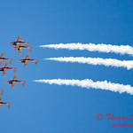 1374 - The RCAF Snowbirds performance at Wings over Waukegan 2012