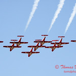 1366 - The RCAF Snowbirds performance at Wings over Waukegan 2012