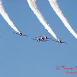 1702 - The RCAF Snowbirds performance at Wings over Waukegan 2012