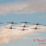 1732 - The RCAF Snowbirds performance at Wings over Waukegan 2012